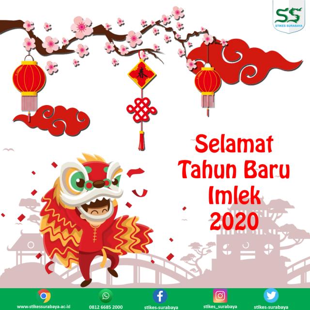Selamat Tahun Baru Imlek 2020 Stikes Surabaya